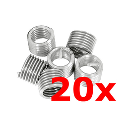 Thread repair Thread inserts RP-TOOLS M8 x 1.25 20 pcs.